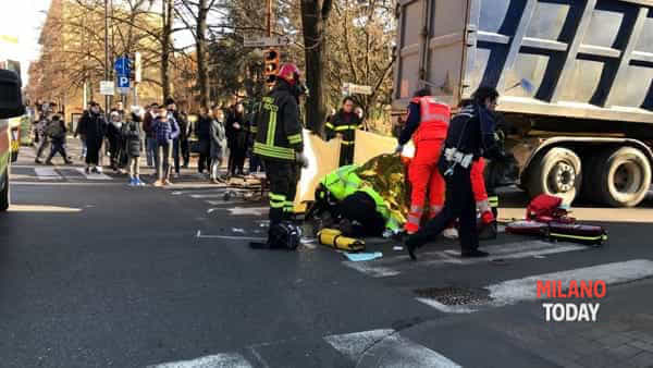 Incidente Camion - Sgomberi a Rho
