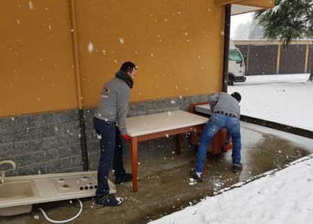 Sgomberi a Legnano Staff